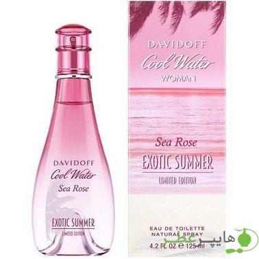Cool Water Sea Rose Exotic Summer Davidoff Woman
