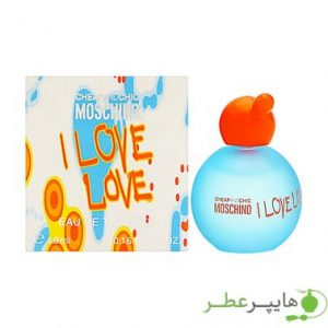 Moschino I Love Love Sample