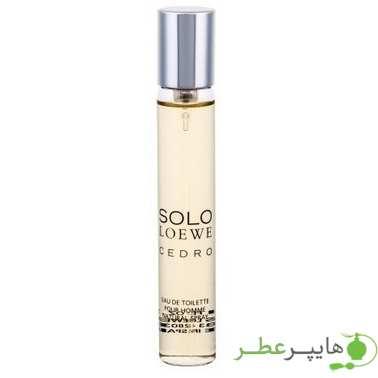 Solo Loewe Cedro for men Sample