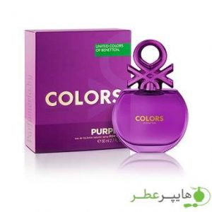 Benetton Colors de Benetton Purple for women