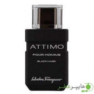 Salvatore Ferragamo Attimo Black Musk Pour Homme