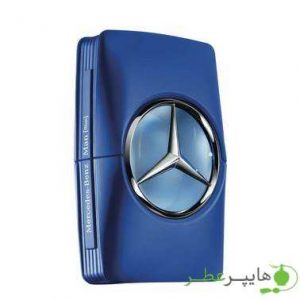 Mercedes Benz Man Blue